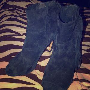 Women's high heel booties